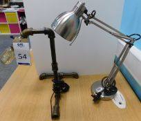 Two Desk Lamps (Location: Hatfield - See General Notes for More Details)
