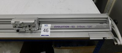 Keencut Evolution E2 Wide Format Precision Cutter, Serial Number S7192, 1:15000 (Location: