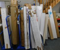 Large Quantity of Full & Part Rolls of Laminate & Paper (Location: Hatfield - See General Notes