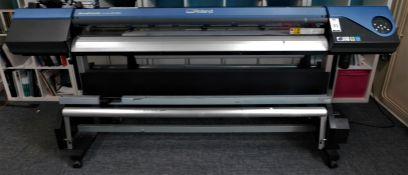 Roland VersaCamm VS640 Wide Format Printer/Cutter Serial Number ZZ50971 (Location: Hatfield - See