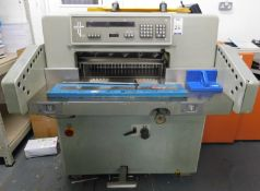 Polar Mohr Model 58 Guillotine Serial Number 6251005, Single Phase (Location: Hatfield - See General