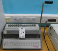 Renz SRW360 3:1 Pitch Manual Punching & Binding Machine (Location: Hatfield - See General Notes