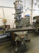 Bridgeport Turret Milling Machine Head Serial Number JB28510 (Location: Kettering - See General