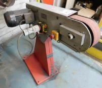 Holzmann Model MSM 75 Belt Grinder, Serial Number 16021 0917 (Location: Kettering - See General