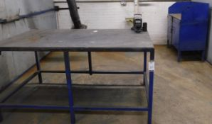 2 Metal Workbenches (Location: Kettering - See General Notes for Details)