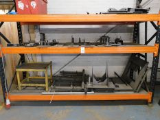 3 Tier Pallet Rack & Two Slotted Steel Racks (Location: Kettering - See General Notes for Details)