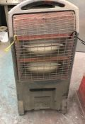 Contents of Spray Room to include Rhino TQ3 Infra Red Heater & Falcon Oven (Location: Kettering -