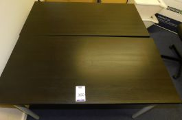 2 Desks, 2 Chairs, Projection Screen & TV Stand (Location: Milton Keynes - See General Notes for