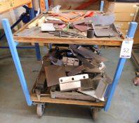 2 Various Metal Framed Trolleys (Location: Kettering - See General Notes for Details)
