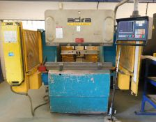 Adira QHR-4512 BI Hydraulic Press Brake (1995), Serial Number 4213/7931 with Autobend 7 DRO (