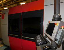 Bystronic BySprint 3015; Fiber 4000 4KW Laser Cutter (2015), 14,570 hours Serial Number 10069577,