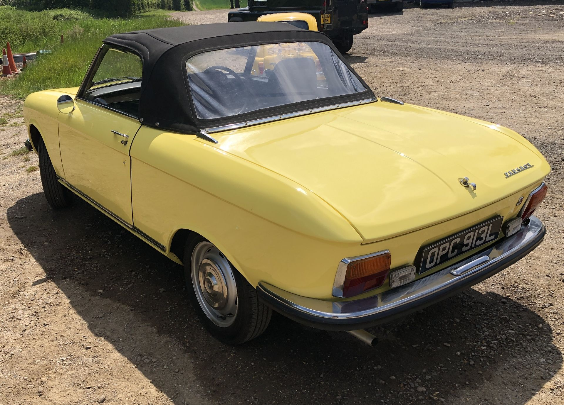 Rare Right Hand Drive Peugeot 304 Convertible, Registration OPC 913L, First Registered 2nd - Image 5 of 48