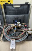 Clarke Weld Gas Welding Cutting Set with Hose, Gauge & Torch (Location: Brentwood. Please Refer to