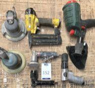 Seven Various Pneumatic Tools (Location: Bognor Regis. Please Refer to General Notes)