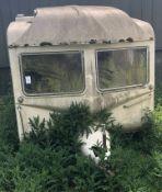 Royale Tourranger Caravan For Restoration, Two Door Model (c.1974)(Location: Bognor Regis. Please