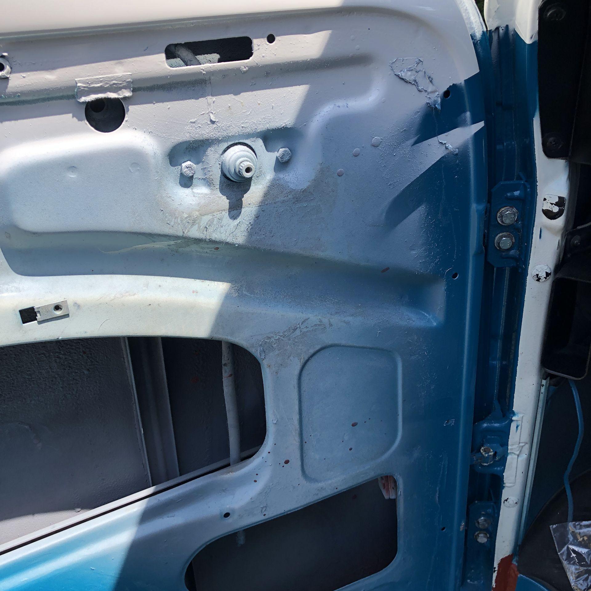 VW Microbus 8 Seater Caravanette Devon - 'Mr Blue' Petrol, Registration UMH 420S, First Registered - Image 40 of 47