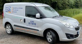 Vauxhall Combo L1 1.6 CDTi 16V Sportive Van, Registration BJ14 THN, First Registered 30th May