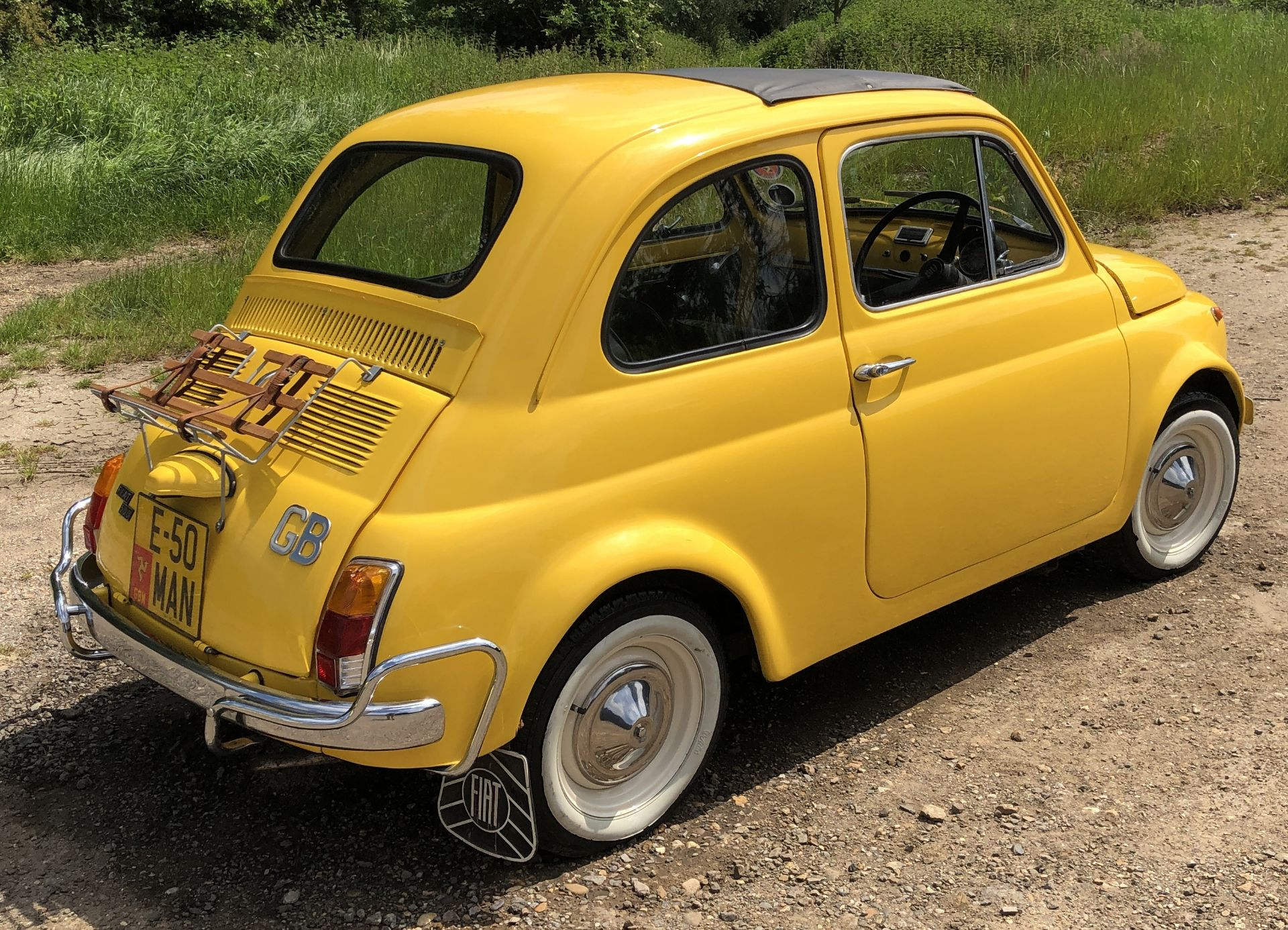 1972 Fiat 500 Saloon, Registration E-50-Man (IOM, Formally Registered as TGF 249L), First Registered - Image 5 of 34