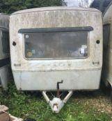 Sprite Alpine 12ft Classic Caravan For Restoration (c. Early 1970s) (Location: Bognor Regis.