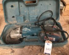 Makita GA9020 Angle Grinder/Cutter, Serial Number 0052144, 240v. (Location: Bognor Regis. Please