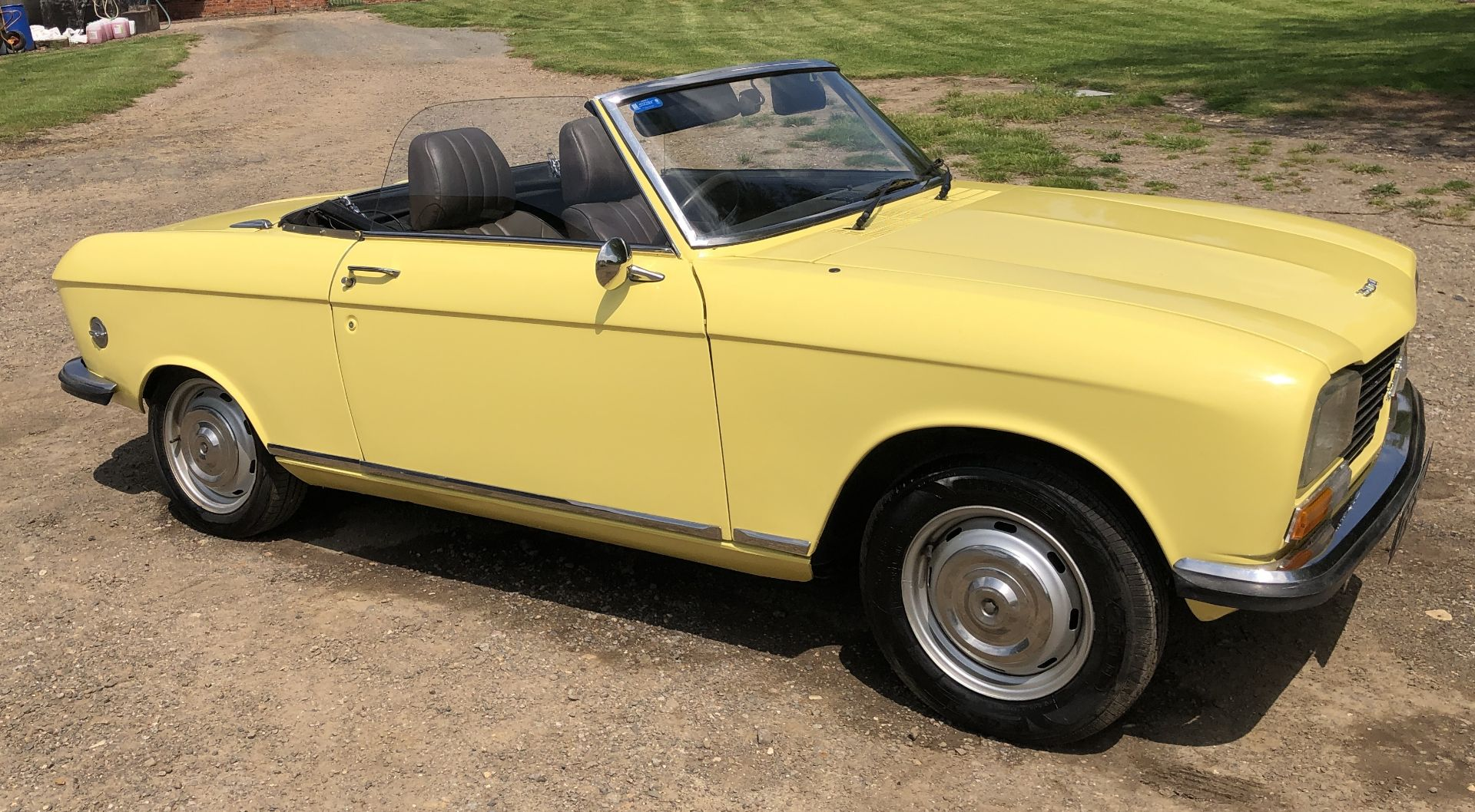 Rare Right Hand Drive Peugeot 304 Convertible, Registration OPC 913L, First Registered 2nd - Image 19 of 48
