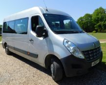 Renault Master LWB FWD LM35dCi 125 8-Seat Mini-Bus, Registration AO60 PFF, First Registered 30th