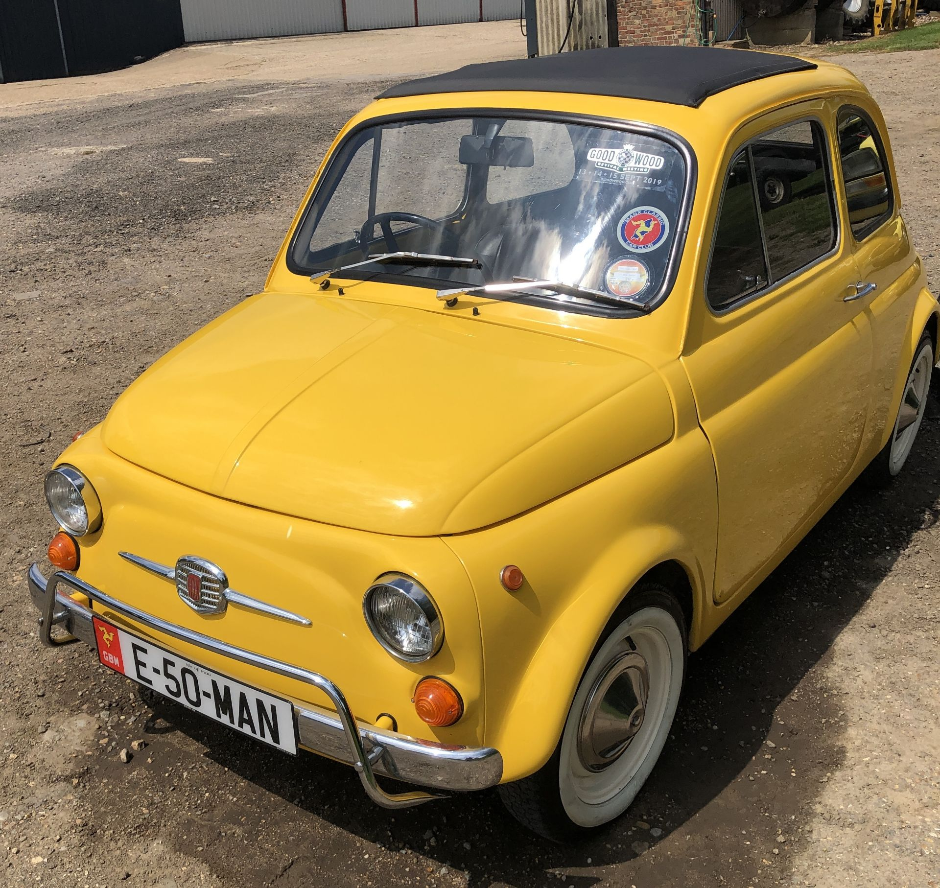 1972 Fiat 500 Saloon, Registration E-50-Man (IOM, Formally Registered as TGF 249L), First Registered - Image 9 of 34