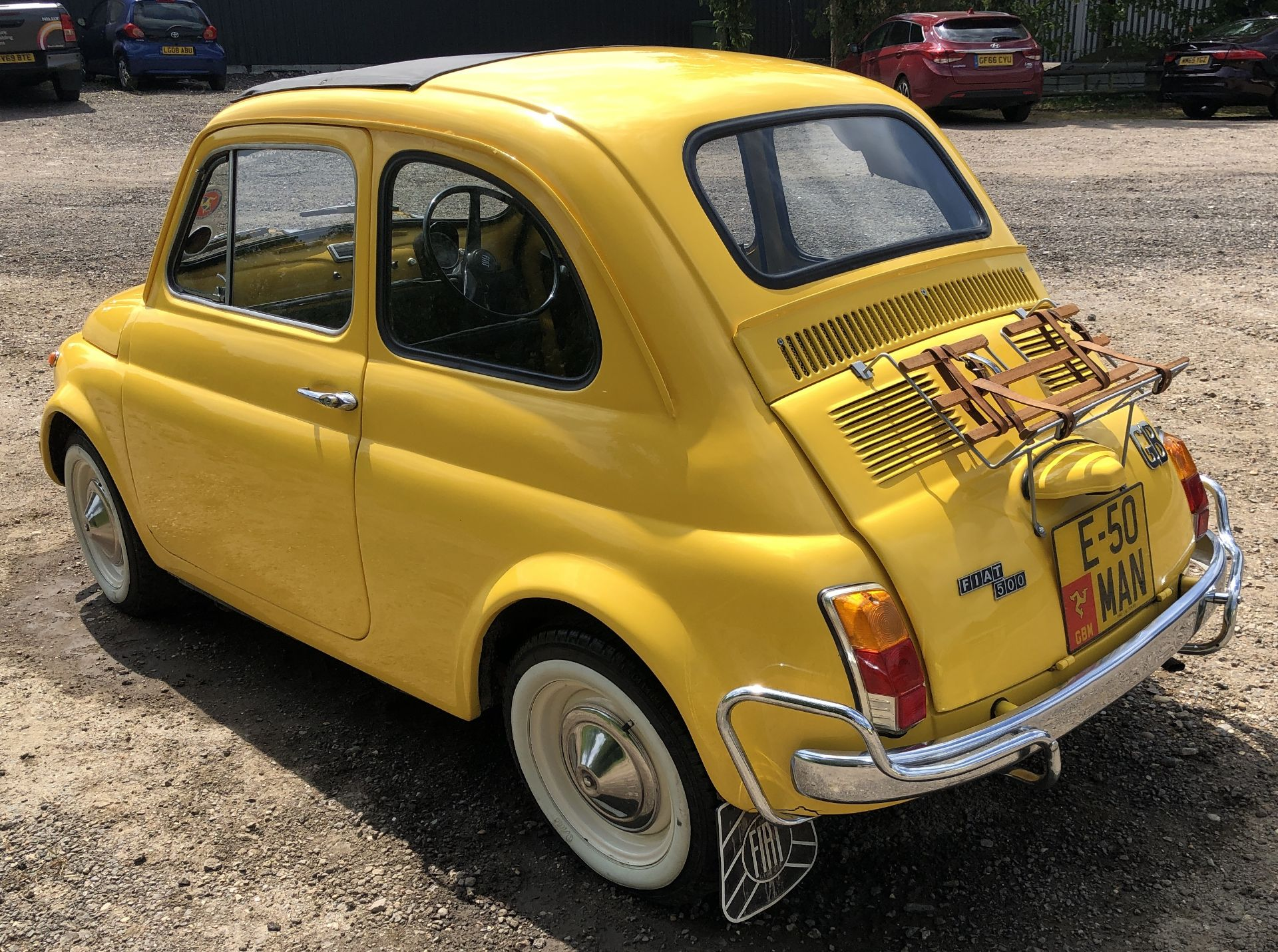 1972 Fiat 500 Saloon, Registration E-50-Man (IOM, Formally Registered as TGF 249L), First Registered - Image 6 of 34