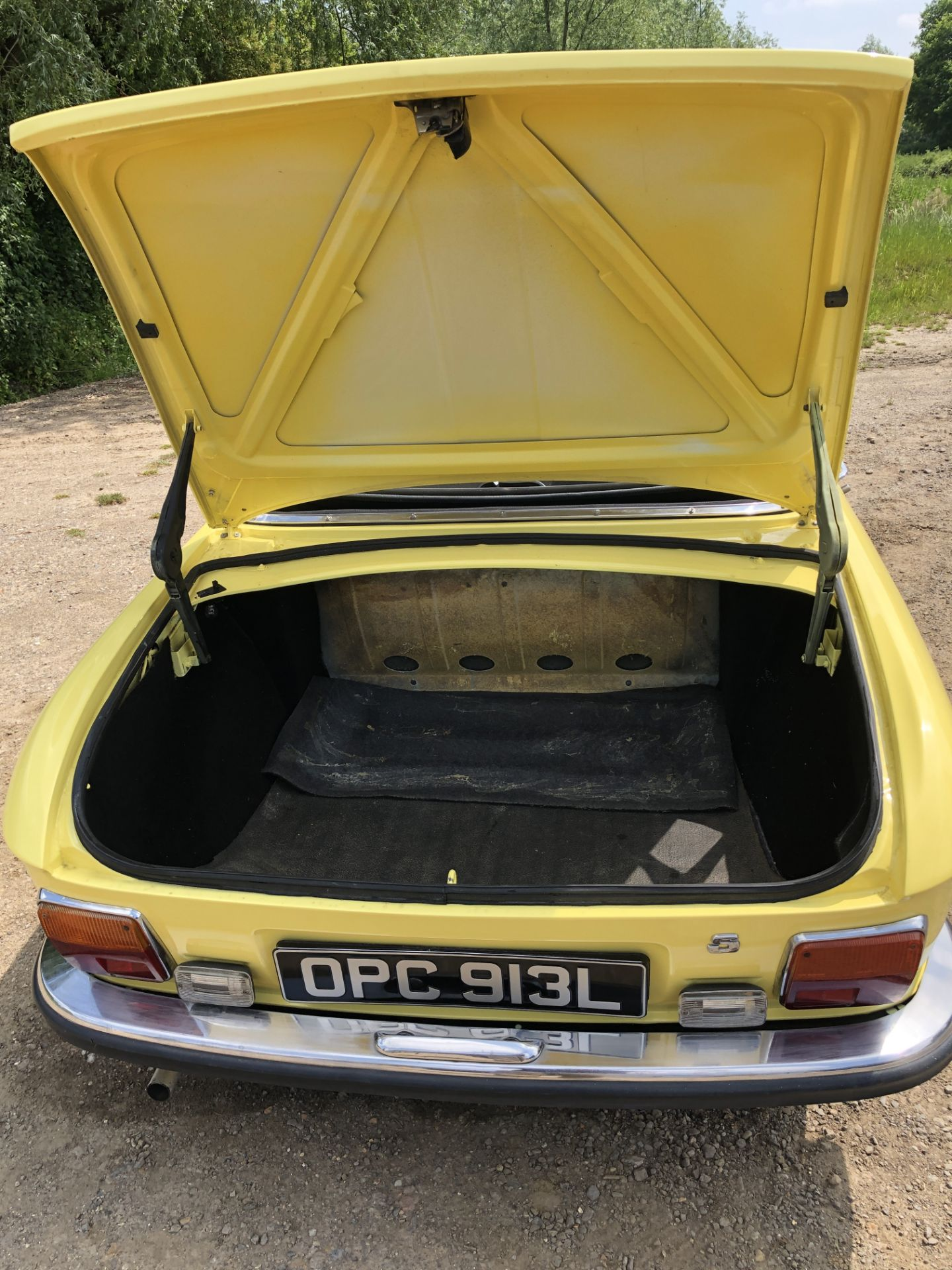 Rare Right Hand Drive Peugeot 304 Convertible, Registration OPC 913L, First Registered 2nd - Image 31 of 48