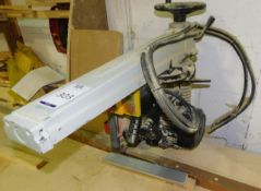 BS-168 Radial Arm Saw (2008) (Location: Stockport. Please Refer to General Notes)