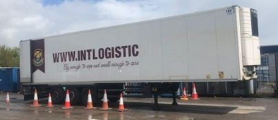 "Schmitz ""Cargobull Type SK024L134FP Refrigerated Trailer (2012), ID Number WSM00000005091117, Serial"