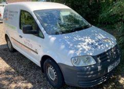 Volkswagen Caddy C20 1.9TDi PD 104PS Van, Registration LC58 GHG, First Registered 26th November