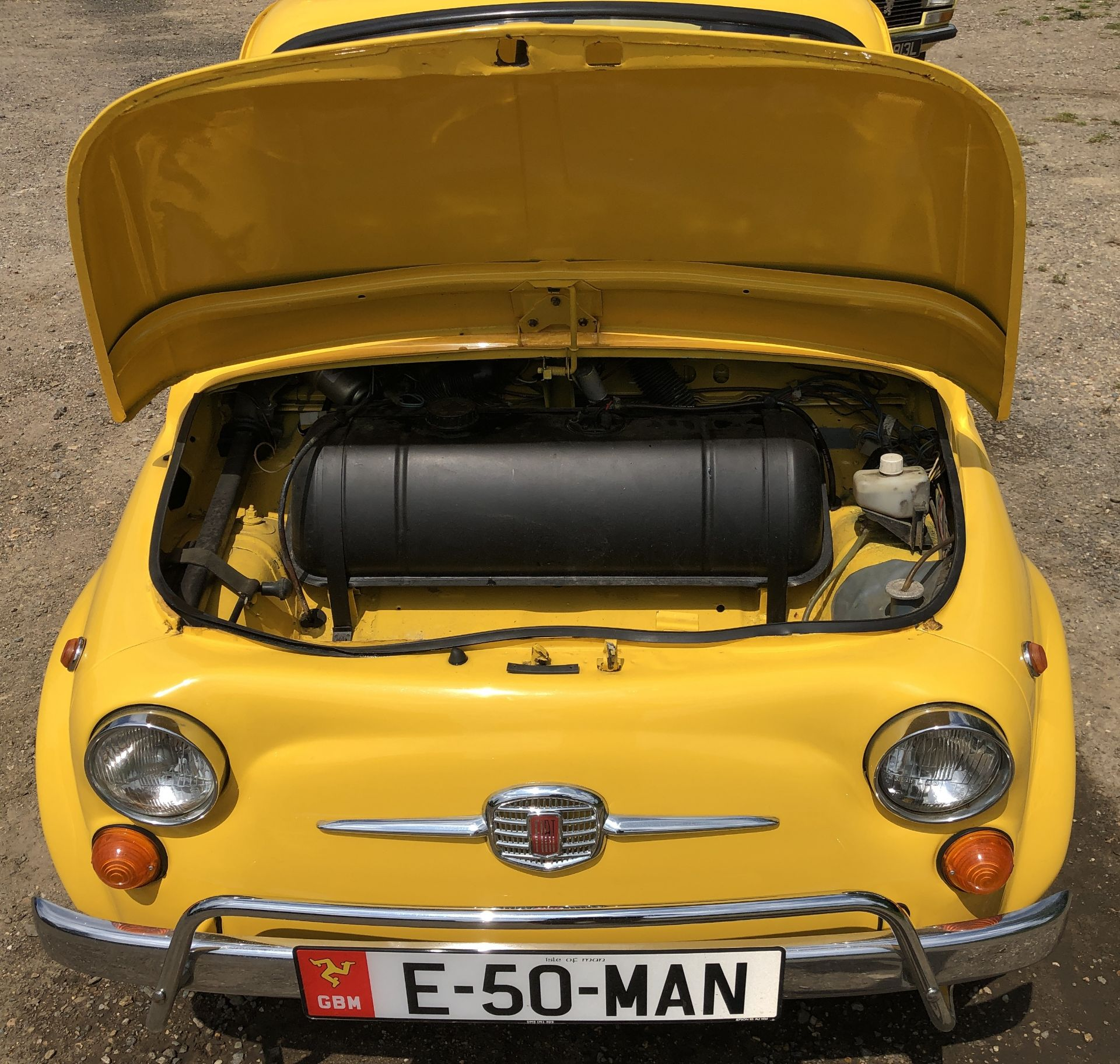 1972 Fiat 500 Saloon, Registration E-50-Man (IOM, Formally Registered as TGF 249L), First Registered - Image 30 of 34