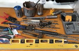 Quantity of Augers, Core Cutters & Miscellaneous Hand Tools (Location: Brentwood. Please Refer to
