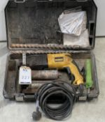 DeWalt D25002K Rotary Hammer Drill & Core Cutters (Location: Brentwood: Please Refer to General