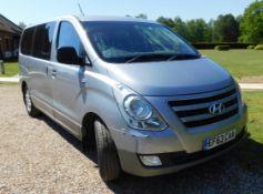 Hyundai I800 2.5 SE CRDi 8-Seat MPV (Euro 05/Euro06 M53AZ1), Registration EF63 CAA, First Registered
