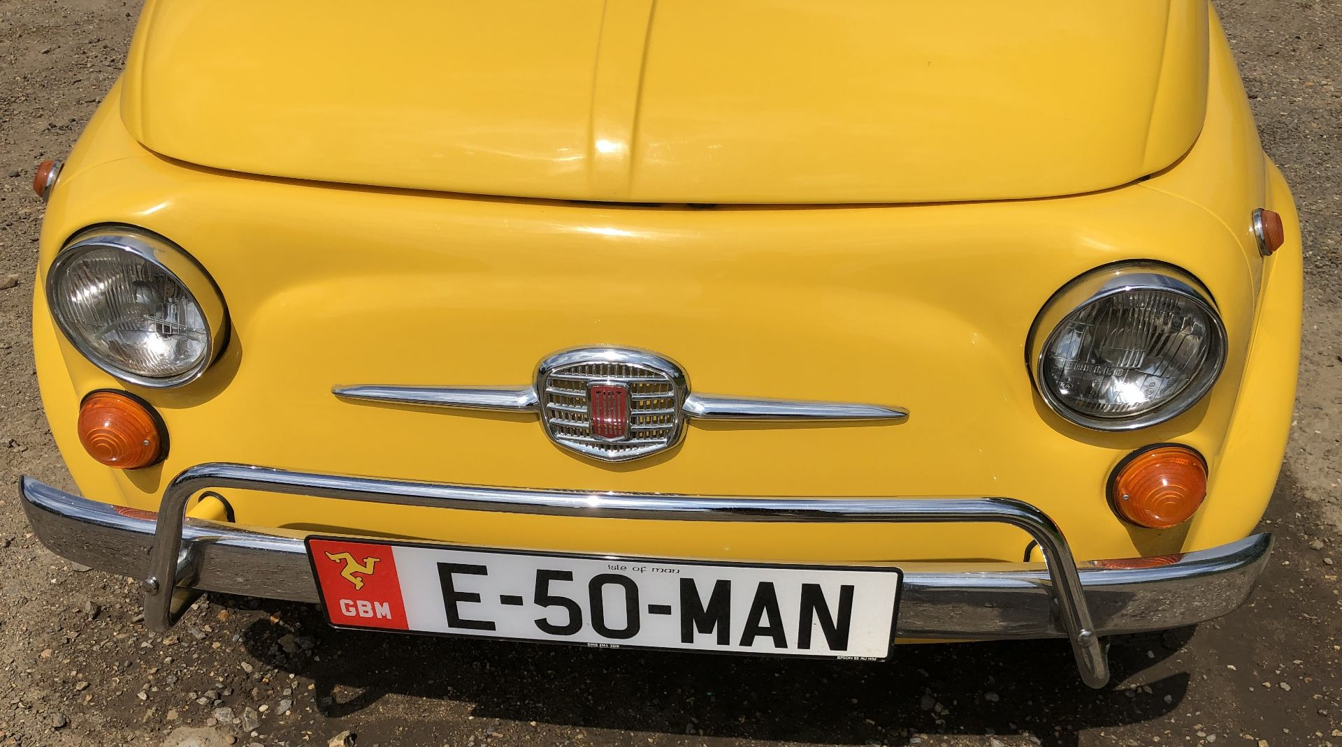 1972 Fiat 500 Saloon, Registration E-50-Man (IOM, Formally Registered as TGF 249L), First Registered - Image 10 of 34