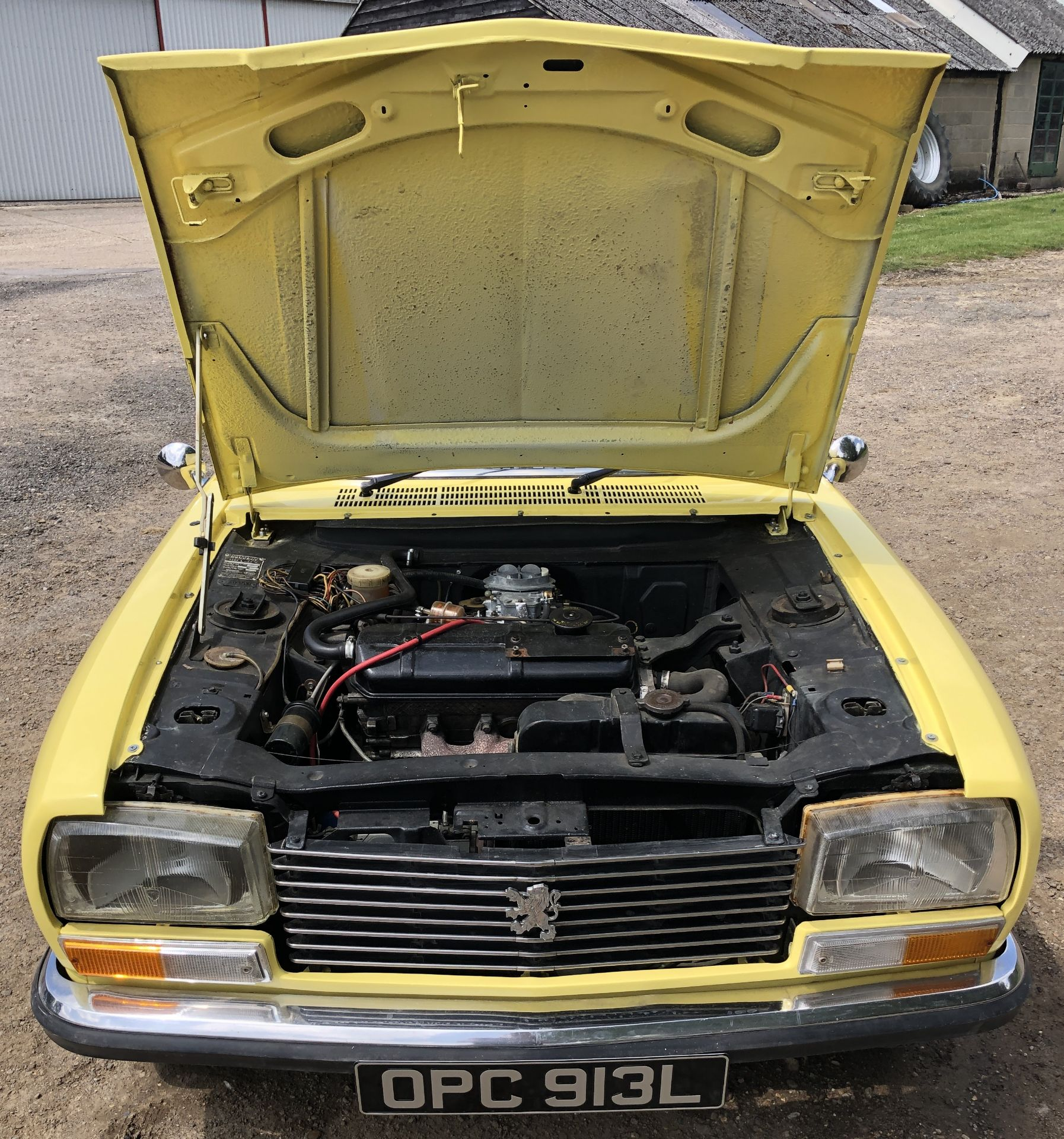 Rare Right Hand Drive Peugeot 304 Convertible, Registration OPC 913L, First Registered 2nd - Image 43 of 48