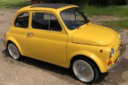 1972 Fiat 500 Saloon, Registration E-50-Man (IOM, Formally Registered as TGF 249L), First Registered