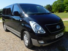 Hyundai I800 2.5 SE CRDi 8-Seat MPV (Euro 05/Euro06 M53AZ1), Registration AP16 WCJ, First Registered
