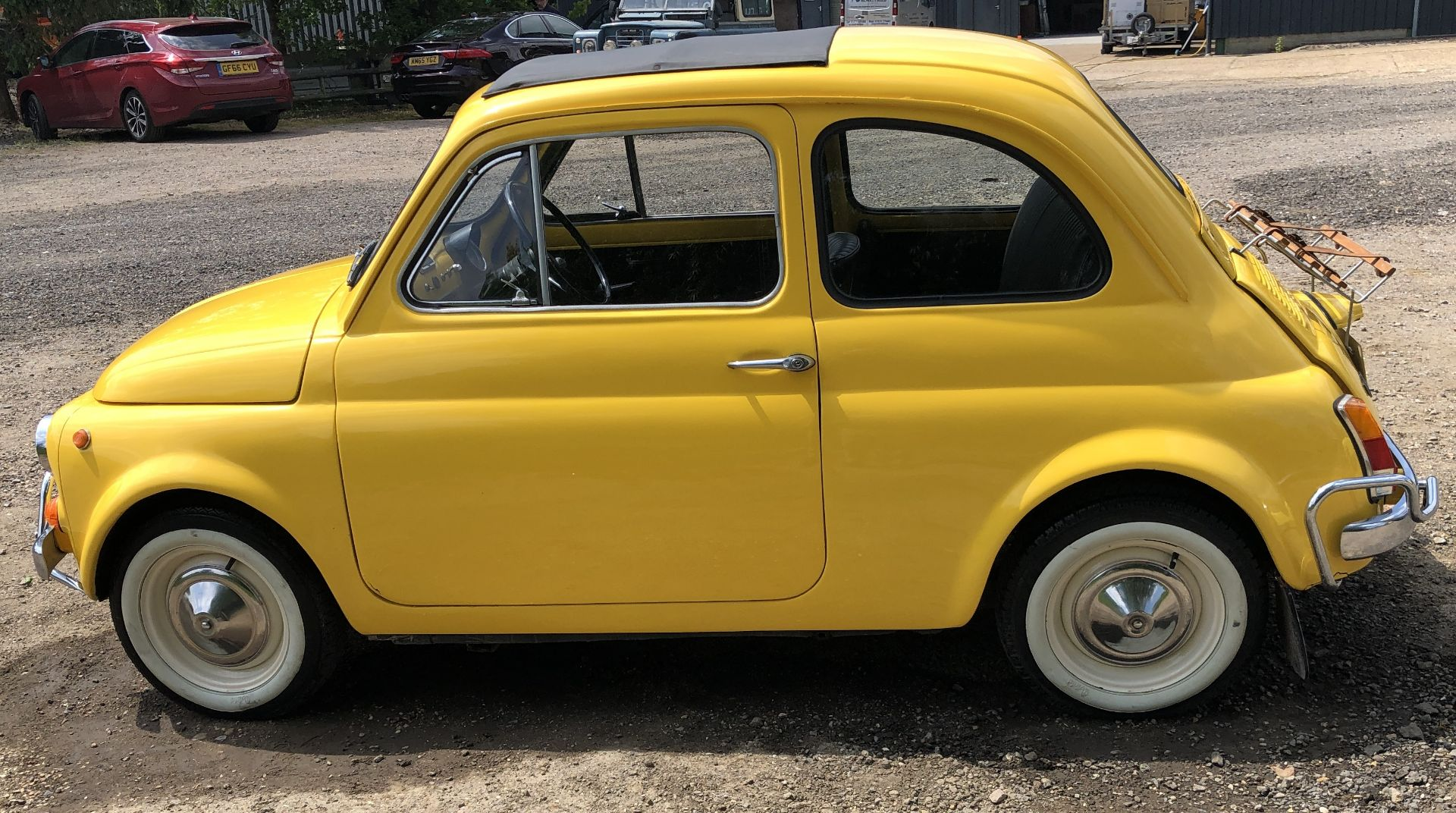 1972 Fiat 500 Saloon, Registration E-50-Man (IOM, Formally Registered as TGF 249L), First Registered - Image 7 of 34