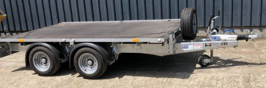 Ifor Williams Type DBS350 2CB LM106G Twin Axle Flat Trailer, Serial Number 0519143, GVW 3500Kg: