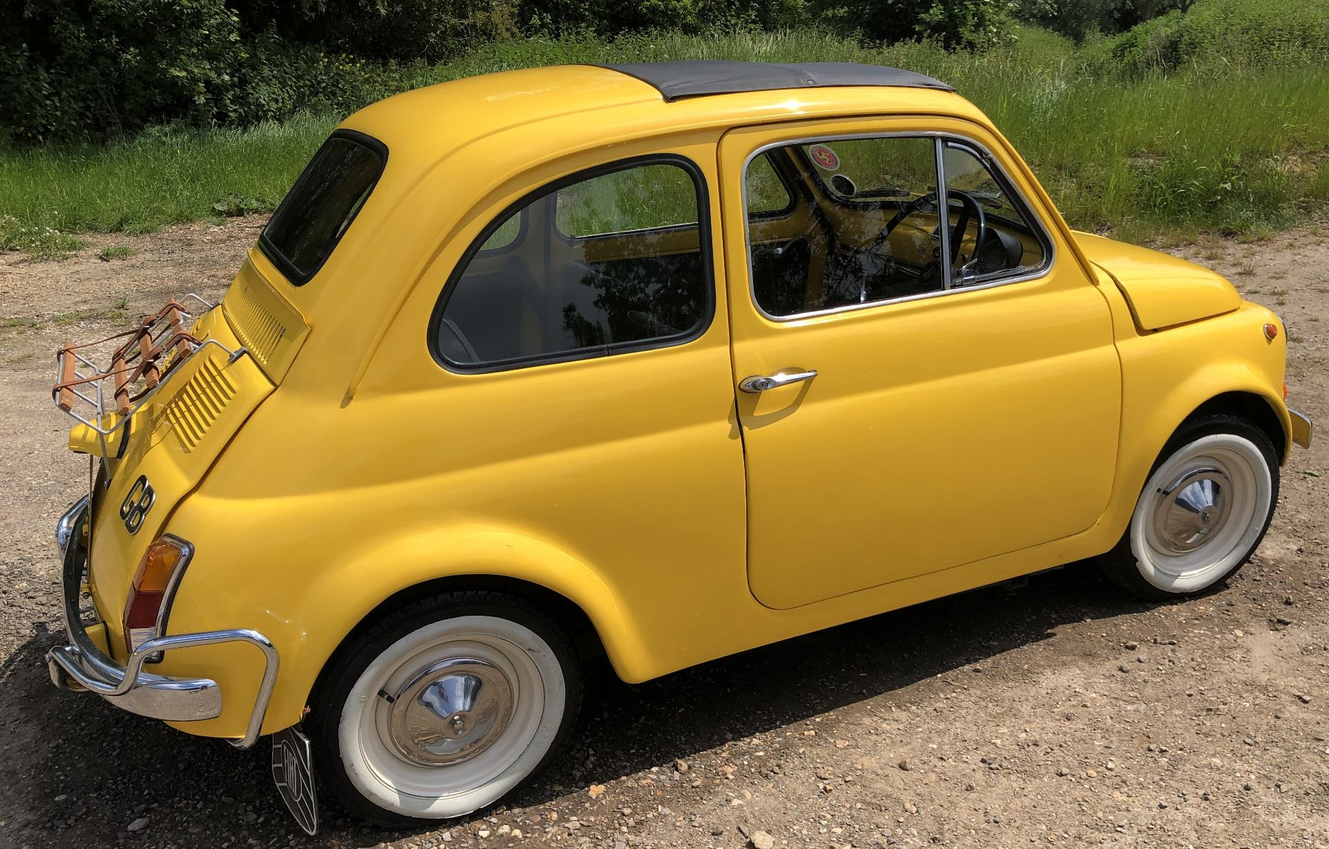 1972 Fiat 500 Saloon, Registration E-50-Man (IOM, Formally Registered as TGF 249L), First Registered - Image 3 of 34