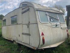 Carlight Continental Classic Caravan For Restoration, 4 Berth (c.1965) (Location: Bognor Regis.