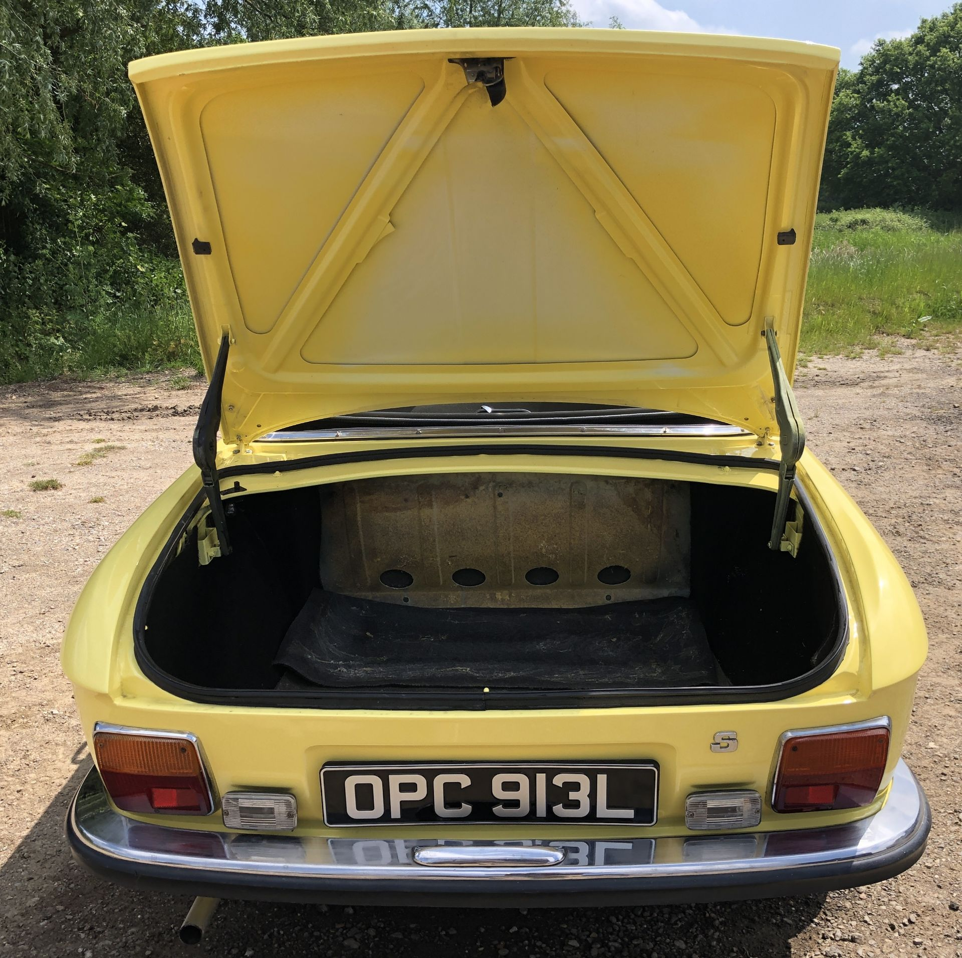 Rare Right Hand Drive Peugeot 304 Convertible, Registration OPC 913L, First Registered 2nd - Image 35 of 48