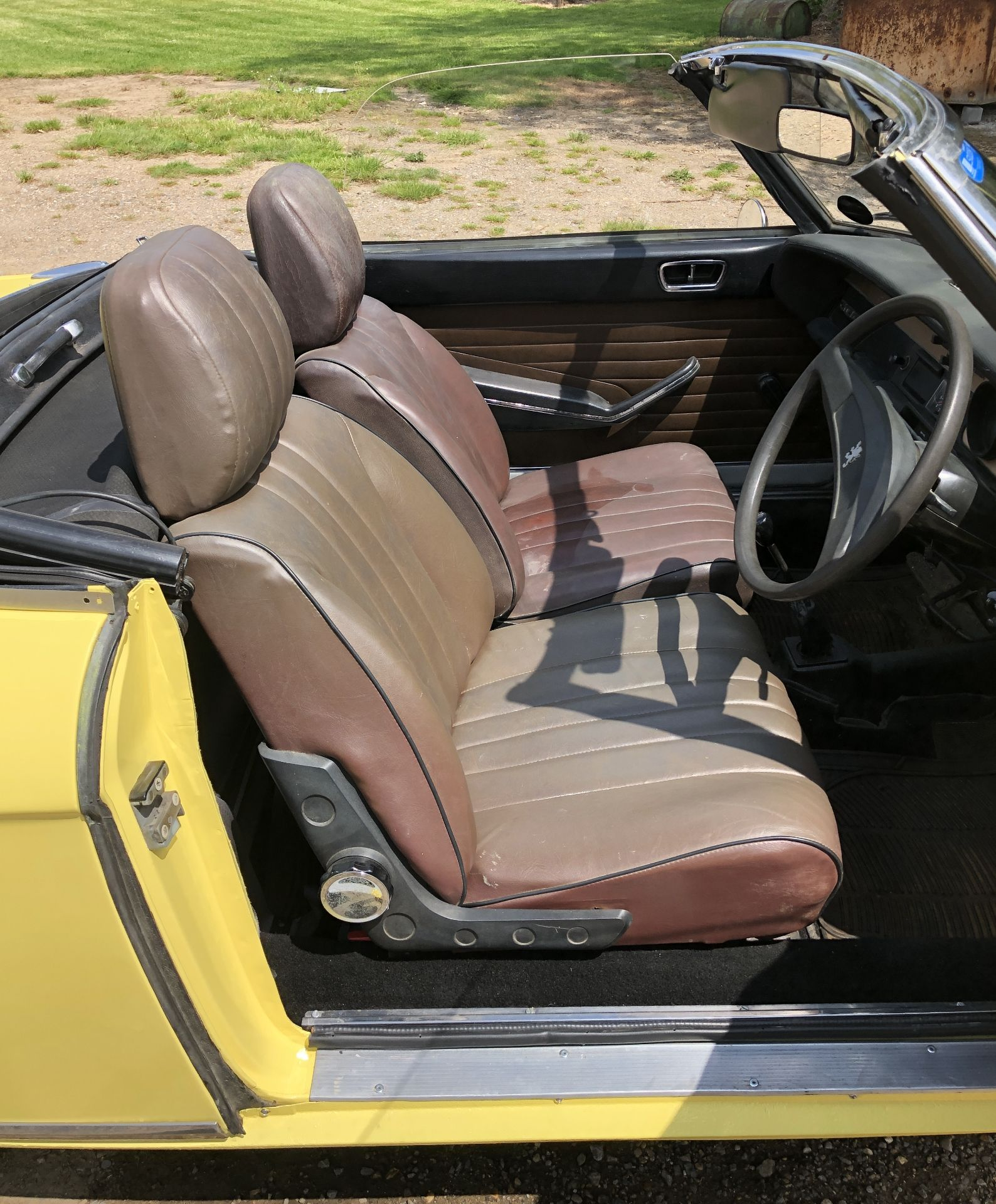 Rare Right Hand Drive Peugeot 304 Convertible, Registration OPC 913L, First Registered 2nd - Image 23 of 48