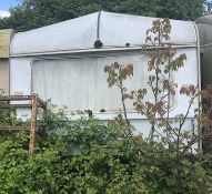 Classic Caravan For Restoration (Location: Bognor Regis. Please Refer to General Notes) (IMPORTANT