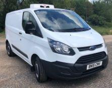 Ford Transit Custom 270 Echo-Tech (Euro MB3W JAZCASA SA) Refrigerated Van, Registration Number