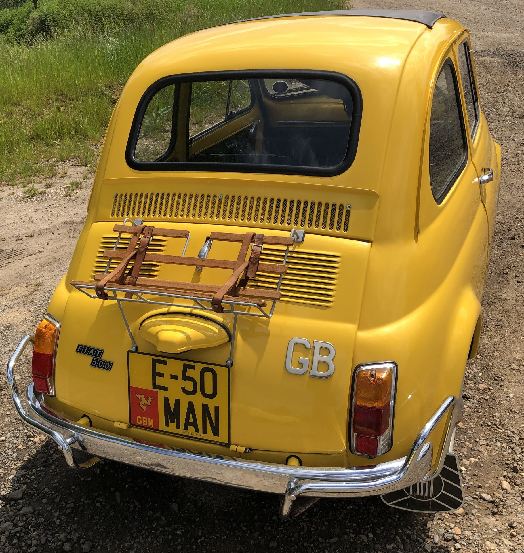 1972 Fiat 500 Saloon, Registration E-50-Man (IOM, Formally Registered as TGF 249L), First Registered - Image 34 of 34