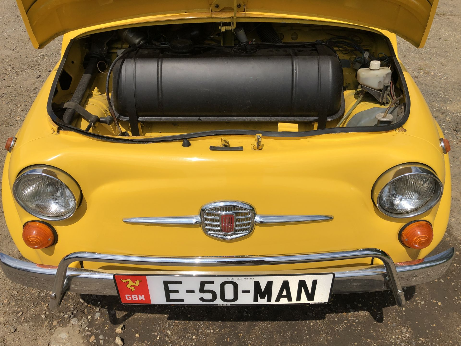 1972 Fiat 500 Saloon, Registration E-50-Man (IOM, Formally Registered as TGF 249L), First Registered - Image 33 of 34